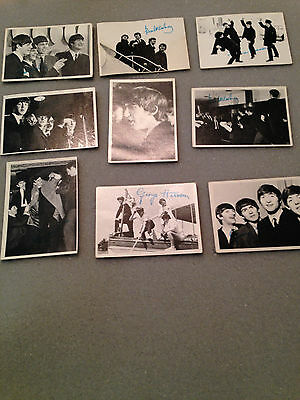 Rare BEATLES B/W Series 2  cards w/ Green print PICK one or more $1.75 SPECIAL