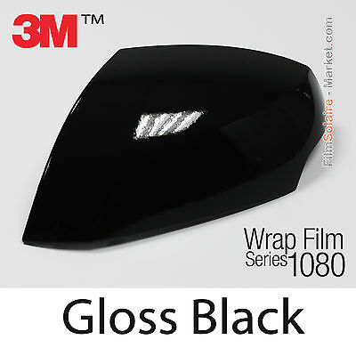 30x152cm FILM Gloss Black 3M 1080 G12 Vinyle COVERING New Series Car Wrapping