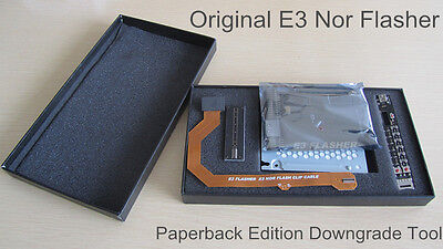 New E3 Nor Flasher E3 paperback edition Downgrade tool