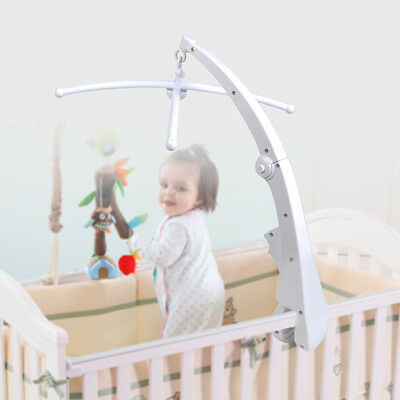 DIY Baby Crib Mobile Bed Bell Holder Arm Bracket for Hanging Music Box & Toy