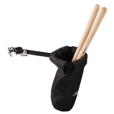 Drumsticks Holder Bag Nylon Clip On Percussion Instruments Stick Holder Portable