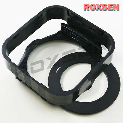 Filter Holder + 55mm P Adapter Ring + Lens hood for Cokin P series color filter