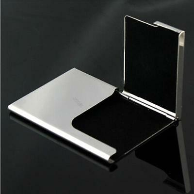 NEW MENS LUXURY steel Case Driver ID Credit Card Holder Protector Case Wallet