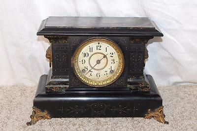 Antique Seth Thomas Adamantine Mantle Clock ~ Made in 1898 ~