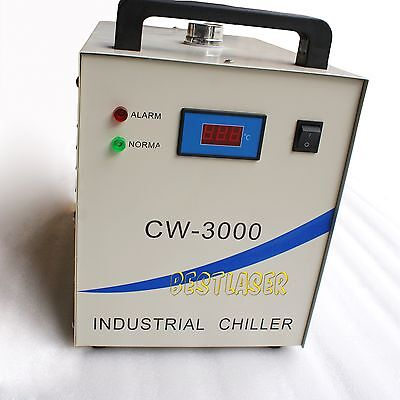 CW-3000 INDUSTRIAL WATER CHILLER FOR LASER ENGRAVING and CUTTING MACHINE AC 220V
