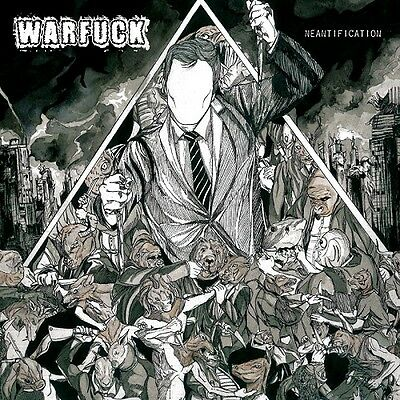 "Warfuck ""Neantification"" clear vinyl LP [FAST & SICK GRINDCORE FROM FRANCE]"