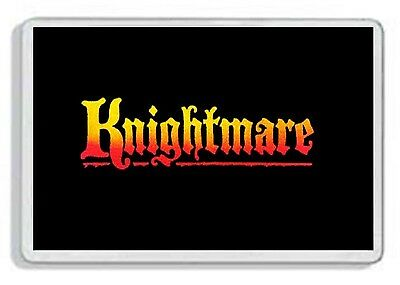 Knightmare Classic Retro Kids Tv Show And Dvd Fridge Magnet Great Gift Uk Seller
