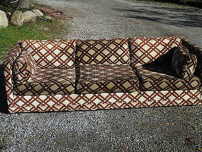 VINTAGE LATE 1960s EARLY 1970s MCM FUNKY COUCH SOFA