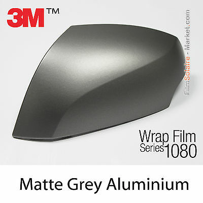 20x30cm FILM Matte Grey Aluminium 3M 1080 M230 Vinyle COVERING Series Wrapping