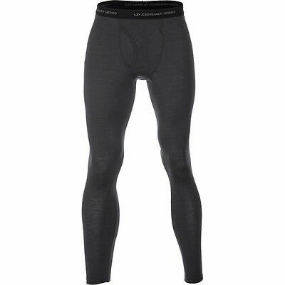 Icebreaker $90 Mens Oasis Base Layer Leggings With Fly Pick Color Size XL, XXL
