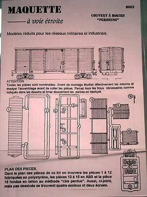 Meridian Models 4mm WW1 Box Car Kit Code SCH-168