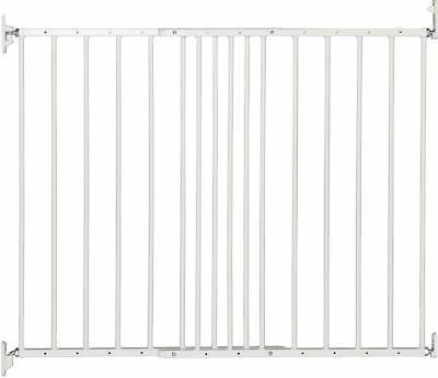 Wide Extending Safety Steel Gate for Stairs Baby Kids Toddlers Dogs Protection