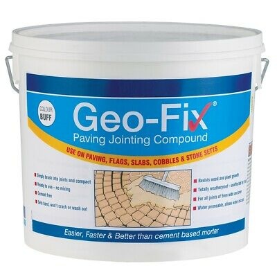 Everbuild GEO-FIX Paving Patio Jointing Compound Mortar Pointing New Grey Buff