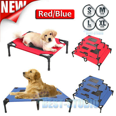 New Heavy Duty Pet Dog Cat Summer Bed Trampoline Hammock Cot SizeS L XL AU Stock