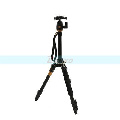QZSD-555 Camera Camcorder DV Quick Release Travel 360° Ball Head Tripod Monopod