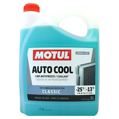 Motul Inugel Classic Ready To Use Coolant / Antifreeze - 5 Litres 5L