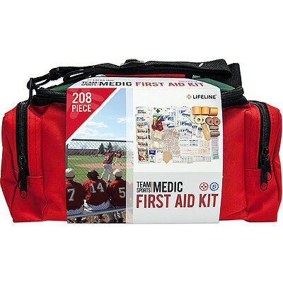 Lifeline First Aid Sports Medic 208 Piece First Aid Kit Travel Health & Beauty