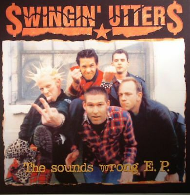 """SWINGIN' UTTERS - The Sounds Wrong EP - Vinyl (10"""")"""