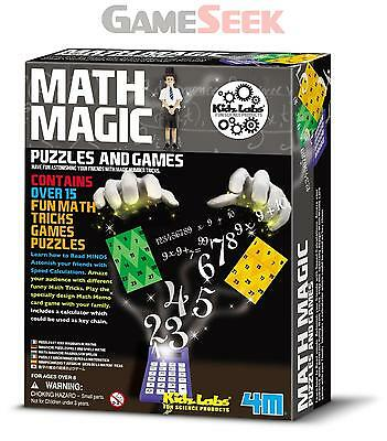 4M Kidz Labs Math Magic - Gadgets Creative Play Brand New Free Delivery