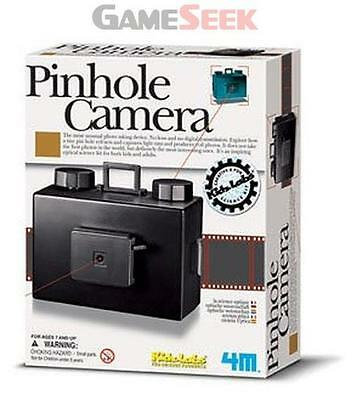Kidz Labs Pin Hole Camera - Toys/games Creative Play Brand New Free Delivery