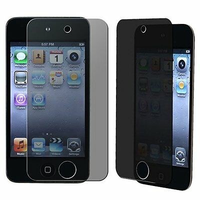 PRIVACY LCD Screen Saver Protector Guard Cover for Apple iPod Touch 4th Gen New