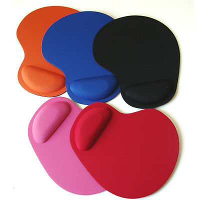 Anti-Slip Comfort Mouse Pad Mat With Soft Foam Rest Wrist Support For PC Laptop
