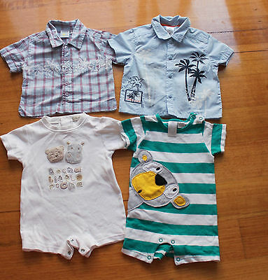 Baby boy summer clothes Tops romper Size 00 3-6 months, pick up OK  Used