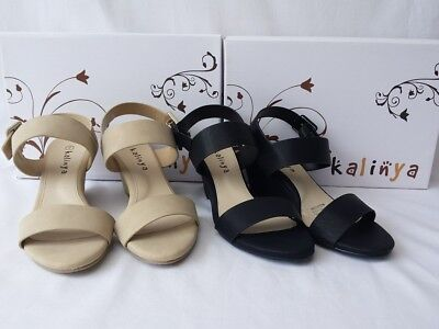 Ladies Wedge Heel Evening Formal Sexy Strap Shoes - Chelsea (girls womens)