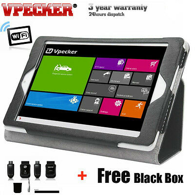 Win Tablet + Vpecker Function As X431 iDiag OBD2 Code Scanner Diagnostic Tool
