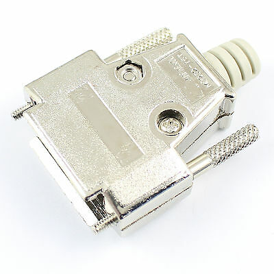 2Pcs Metal Cover Housing Hood For D-SUB 15 Pin 2 Rows Or 26 Pin 3 Rows Connector