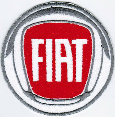 Fiat Emblem Logo Motor Company Automaker Car Racing Iron On Embroidered Patch