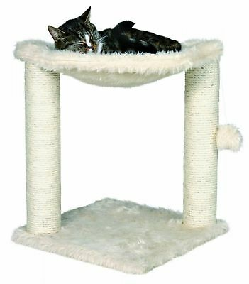Sturdy Cat Scratching Post Tree Activity Plush Toy Scratcher Bed Natural Habbits