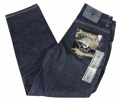 NEW VTG 90s NEVADA JEANS Boys Dark Indigo Wash Denim Size 10 Deadstock NWT NOS