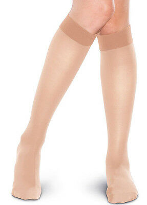 New - Preggers - Compression Knee Highs in Nude - Maternity Clothing
