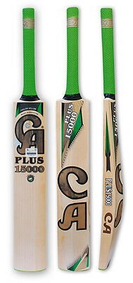 CA plus 15000 Cricket Bat-Hand Crafted-Ready to Play-SH-English Willow