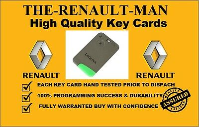 2 button key card suitable for Renault Laguna & Espace brand new No1 seller!!!