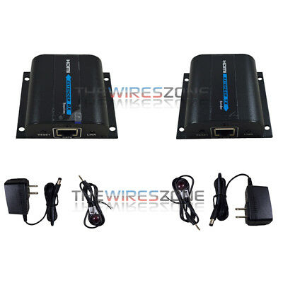 1080P HDMI Network Extender Over Single Cable with IR CAT5E/6 Ethernet Cable 3D