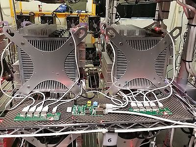 Complete Bitcoin Miner Two (2) Rockminer Rocket RK-Boxs 450~480 GH/s