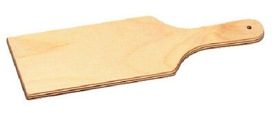 School Specialty Light-Weight Birch Hardwood Clay Paddle Tool, 12 in