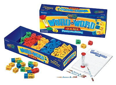 Learning Resources Reading Rods Word For Word Phonics Game, 118 Pieces