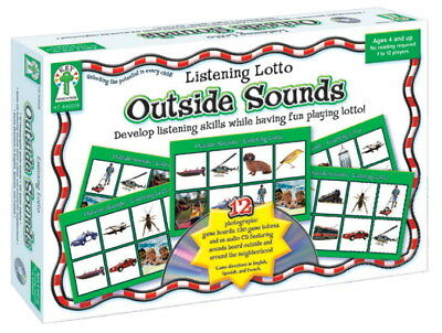 Key Education Outside Sounds Listening Lotto Game