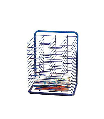 Marvel Education Economical Drying Rack, 25 x 20-3/4 x 17 Inches, Blue