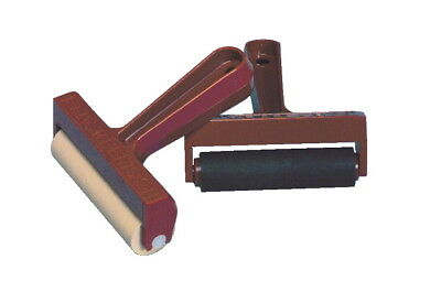 Speedball Pop-In Soft Rubber Brayer with Plastic Frame, 4 Inches
