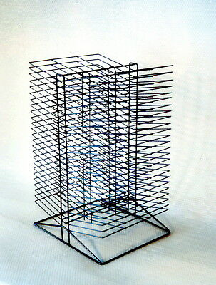 Sax All-Steel Double Sided Wire Drying Rack, 17 x 20 x 30 inches, Steel, Black,