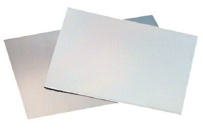 St Louis Crafts Rectangle Smooth Aluminum Etching Plate, 6 X 9 in, 18 ga, Mirror