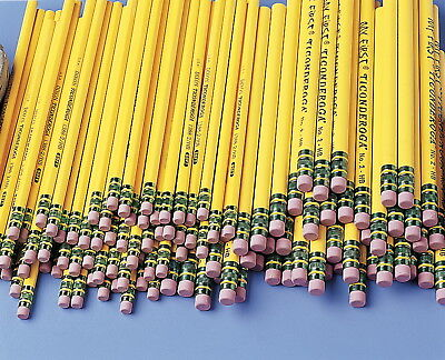 Ticonderoga My First Anti-Microbial Beginner Non-Toxic Pencil with Latex-Free