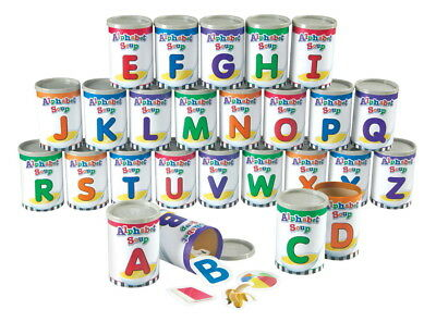 Learning Resources Alphabet Soup Sorters, 234 Pieces