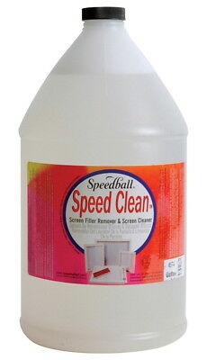 Speedball Speed Clean Non-Toxic Screen Cleaner, 1 gal Bottle