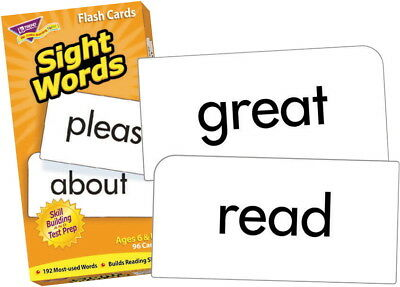 Trend Sight Words Flash Cards - Set of 96