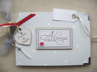 PERSONALISED always and forever A5 SIZE...  PHOTO ALBUM/SCRAPBOOK/MEMORY BOOK